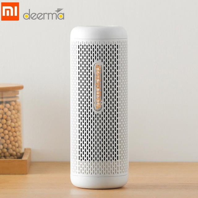 US $27 99 |Xiaomi Deerma Recyclable Mini Dehumidifier Reduce Air Humidity  Dry/Wet Visual Window Holes Design Moisture Absorption/PTC Drying-in