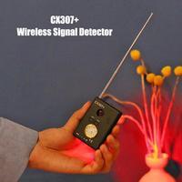 США штекер CX307 + анти-скрытый камера беспроводной сигнал детектор ошибок Eavesdropper защита конфиденциальности gps Finder трекер детектор Новый