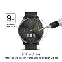 2 упаковки для Garmin Vivomove HR 0,3 мм 2.5D 9H защита экрана из закаленного стекла Ультрапрозрачная Защита от царапин для garmin