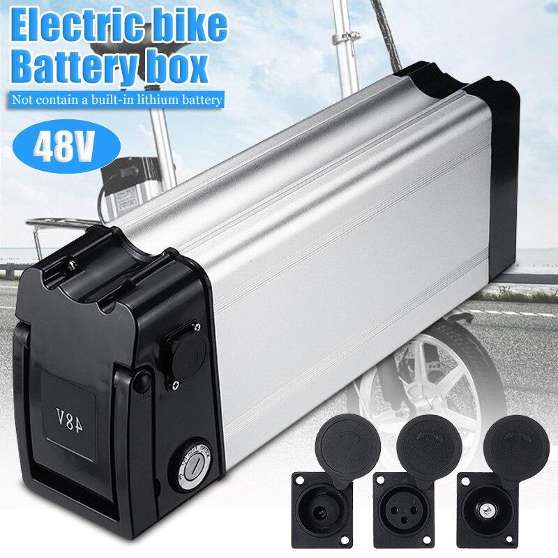 48 V vélo de voiture électrique boîte de batterie au Lithium pliant vélo batterie de mer boîtier de batterie en alliage d'aluminium coque de support 18650