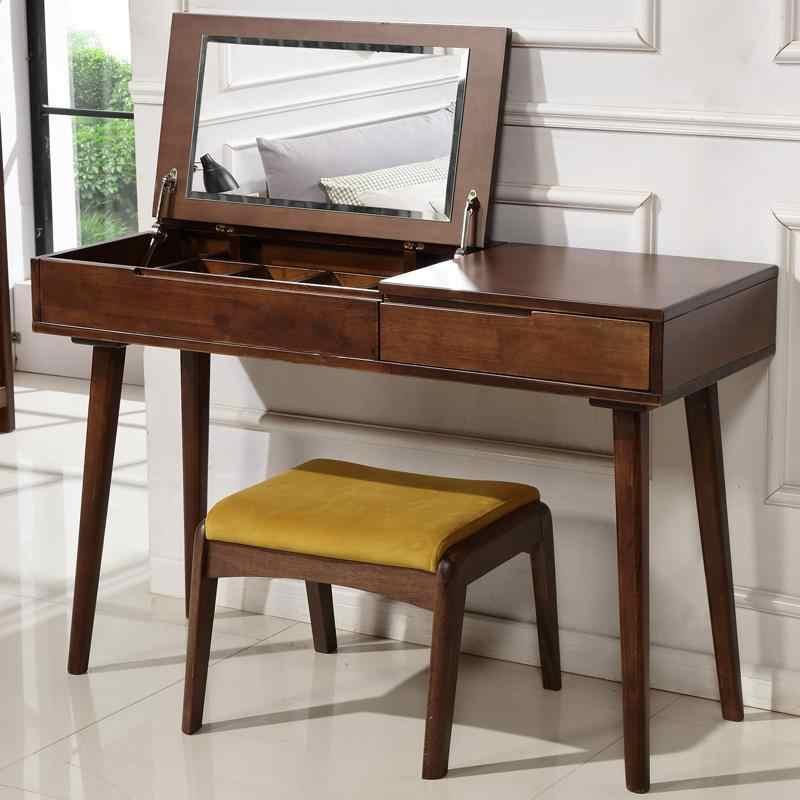 Tocadore Para El Dormitorio Tocador De Maquillaje Mesa потертый шик деревянная мебель для спальни корейский стол пентеадейра комод