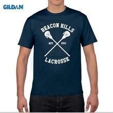 GILDAN 2017 Summer Teen Wolf T-shirt Stiles Stilinski 24 Tshirt BEACON HILLS  Tops Tee Shirts Funny T Shirt Men