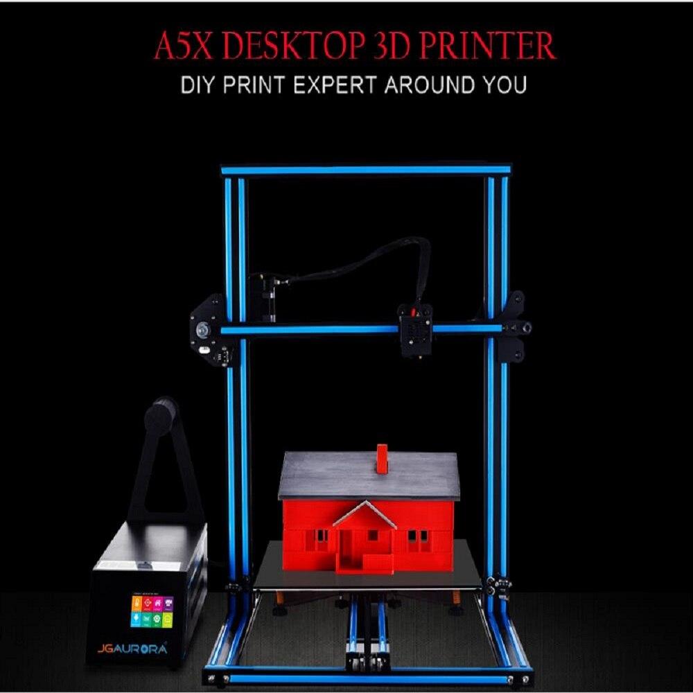 JGAURORA A5X imprimante 3D 320x320x350mm 2.8 écran tactile 3D Machine d'impression