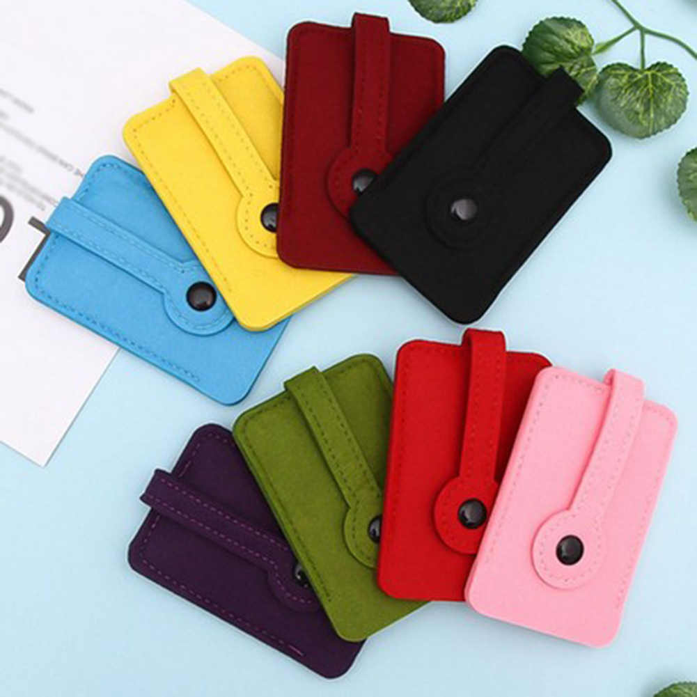 Hot Luxurry Brand Car Key Wallet Purse Men Women Woolen Felt Keychain Holder Pocket Keys Organizer Pouch Case Bag