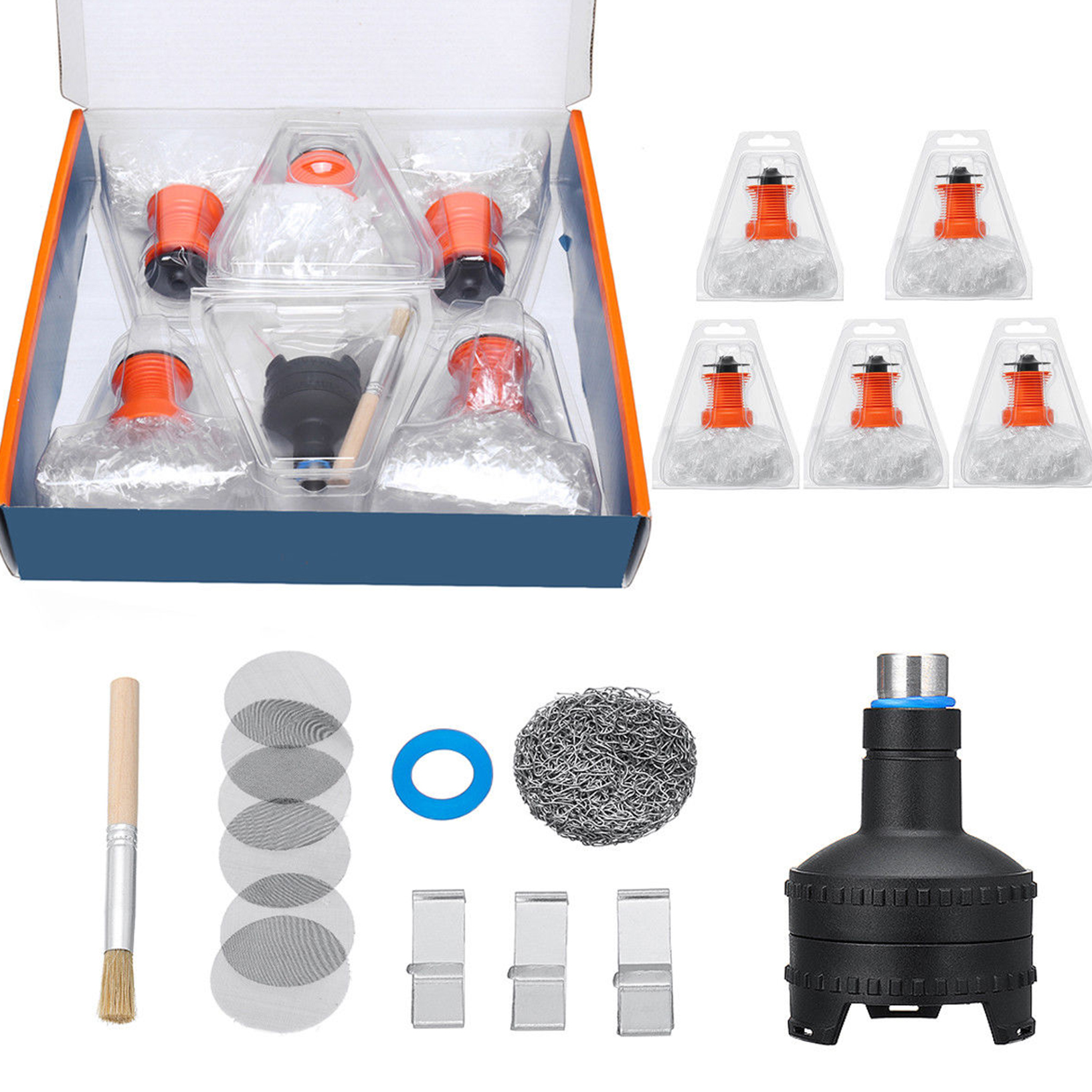 Replacement For Volcano Easy Valve Starter Kit Set Heat Filling Chamber Balloon