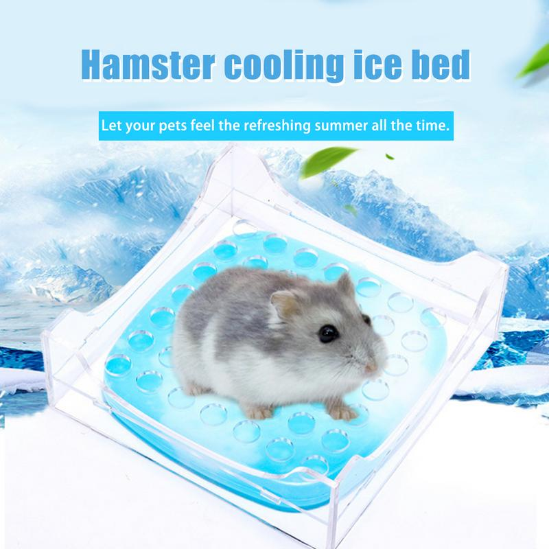 font b Pet b font Small Cooling Bed Summer Heat Cooling Plate Hamster Ice Box