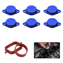6 X 33MM Diesel Swirl Flap Blanks Intake Manifold Gaskets Repair Replacement Kit for BMW(China)