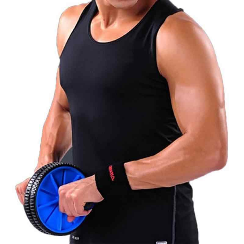 Koło brzucha trener mięśni gimnastyczne Ab Roller z mata naciśnij do ćwiczeń maszyna do ćwiczeń treningu