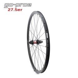 Go proe DT Swiss 240 12 prędkości centrum 650B koła MTB 27.5er rower górski koło karbonowe bezdętkowe gotowe z Sapim szprychy|Koła roweru|Sport i rozrywka -