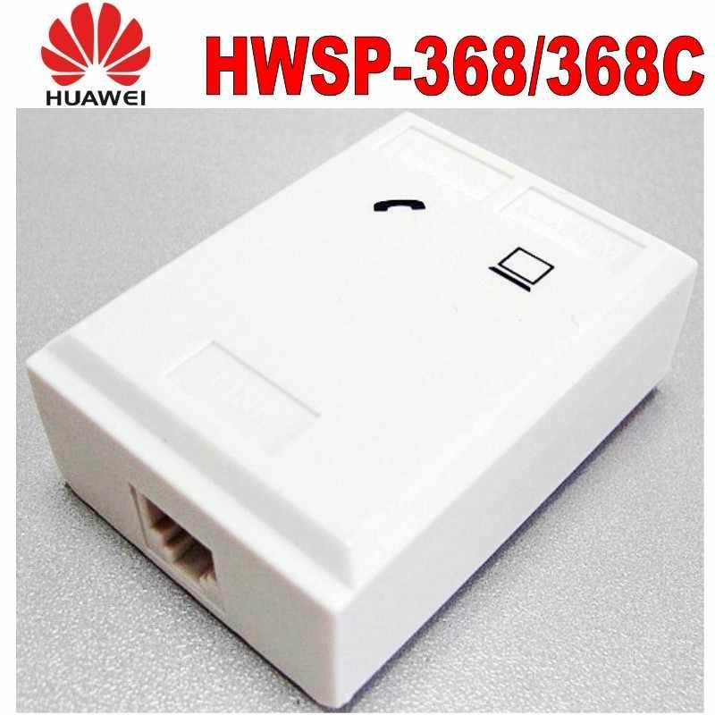 Original huawei vdsl splitter telefone de banda larga filtro proteção contra raios surtos anti ruído 6p2c para adsl modem rj11 adaptador