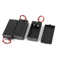 3 Pcs Two Wire Lead On/Off Switch 1 x 9V Battery Cell Case Holder(China)