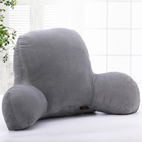 1PC Lounger Pillow Bed Car Rest Back Support Arm Stable Reading Backrest Cushion Protect The Waist 29