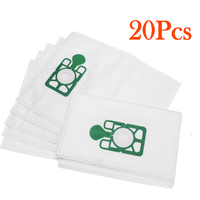 20Pcs Hoover Bags Vacuum Cleaner Cloth Dust Bag For Numatic Henry Hett