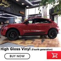 Высококачественная супер яркая красная глянцевая виниловая пленка для автомобиля фольга красная виниловая Автомобильная оберточная накл
