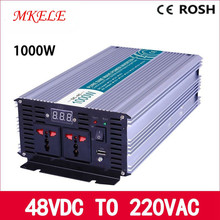 12 Volt 220 Volt Votage Converter MKP1000-122 Off Grid Pure Sine Wave 1000w Inverter  LED Display Solar Inverter 3000w pure sinus inverter 12 volt to 220 volt 3000va off grid pure sine wave inverter