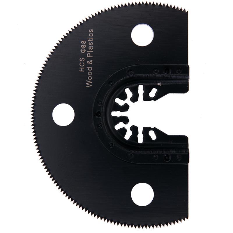 100mm Semi Circular HCS Segment Saw Blade Oscillating Multifunction Tools Multimaster Fein Dremel Renovator Wood Metal Cutting