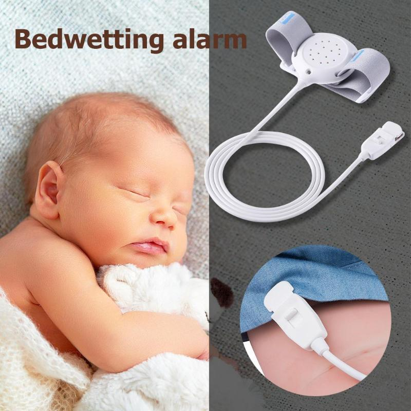 Bed-Wetting Sensor Alarm Wet Reminder Device Vibration Flashing Bell Arm Wear For Baby Old People Night Enuresis For Deep Sleep