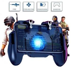 Image 1 - Pubg Controller L1R1 Shoote Pubg Gamepad Mobiele Game Controller Jongen Trigger Controle Joystick Voor Iphone Android Met Ventilator
