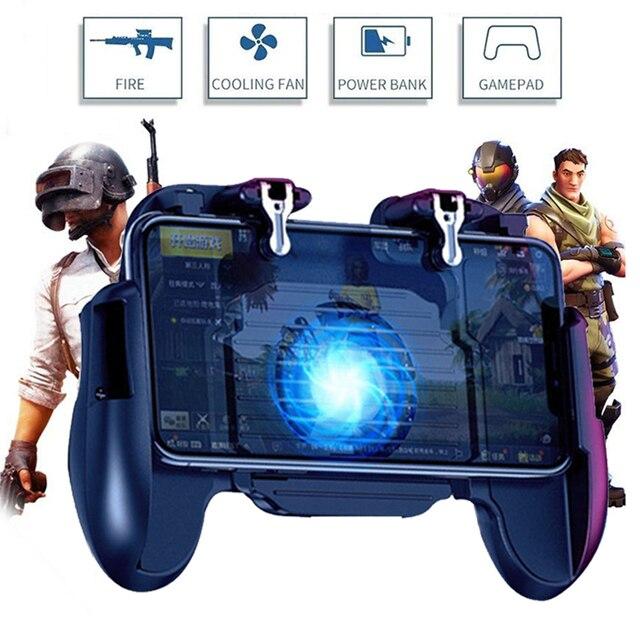 Pubg Controller L1R1 Shoote Pubg Gamepad Mobiele Game Controller Jongen Trigger Controle Joystick Voor Iphone Android Met Ventilator