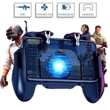 Pubg контроллер L1R1 Shoote Pubg геймпад мобильный игровой контроллер мальчик триггер управления Джойстик для IPhone Android с вентилятором