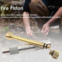 Латунный комплект пожарного поршня, наружные спасательные инструменты, пламенная трубка для пожарного стартера