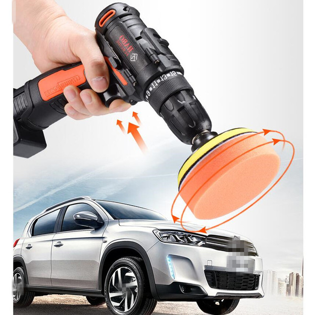 Pulidora Car Polisher Adjustable Waxing Machine Cordless Cleaner Polish Machine Electric Automotive Polishing Machine