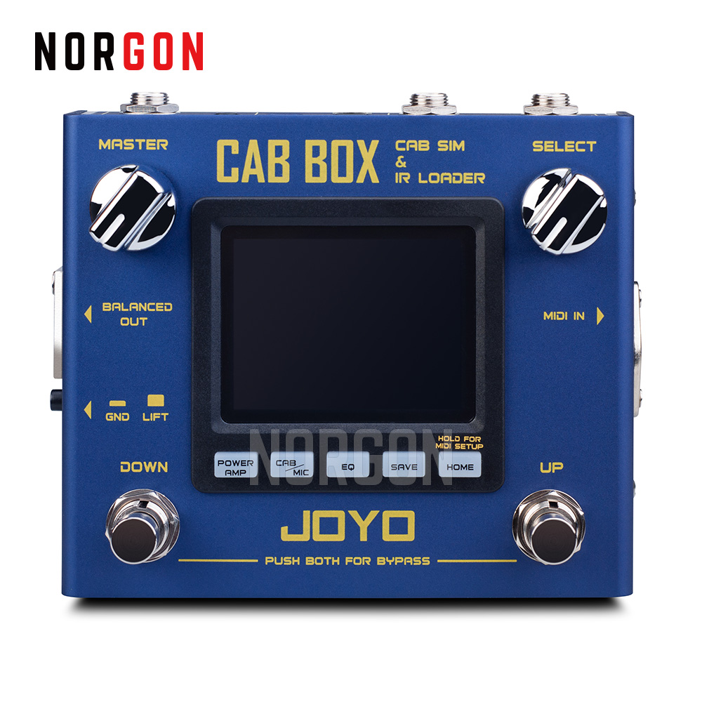 joyo cab box guitar cabinet speaker simulator and ir loader guitar effect pedal electric bass. Black Bedroom Furniture Sets. Home Design Ideas