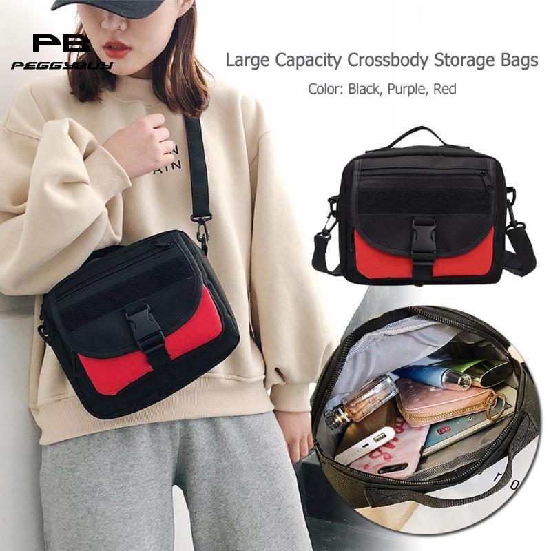 2019 Frauen Handtaschen Mode Leinwand Schulter Handtaschen Frauen Männer Messenger Große Kapazität Crossbody Telefon Hand Taschen Gute QualitäT