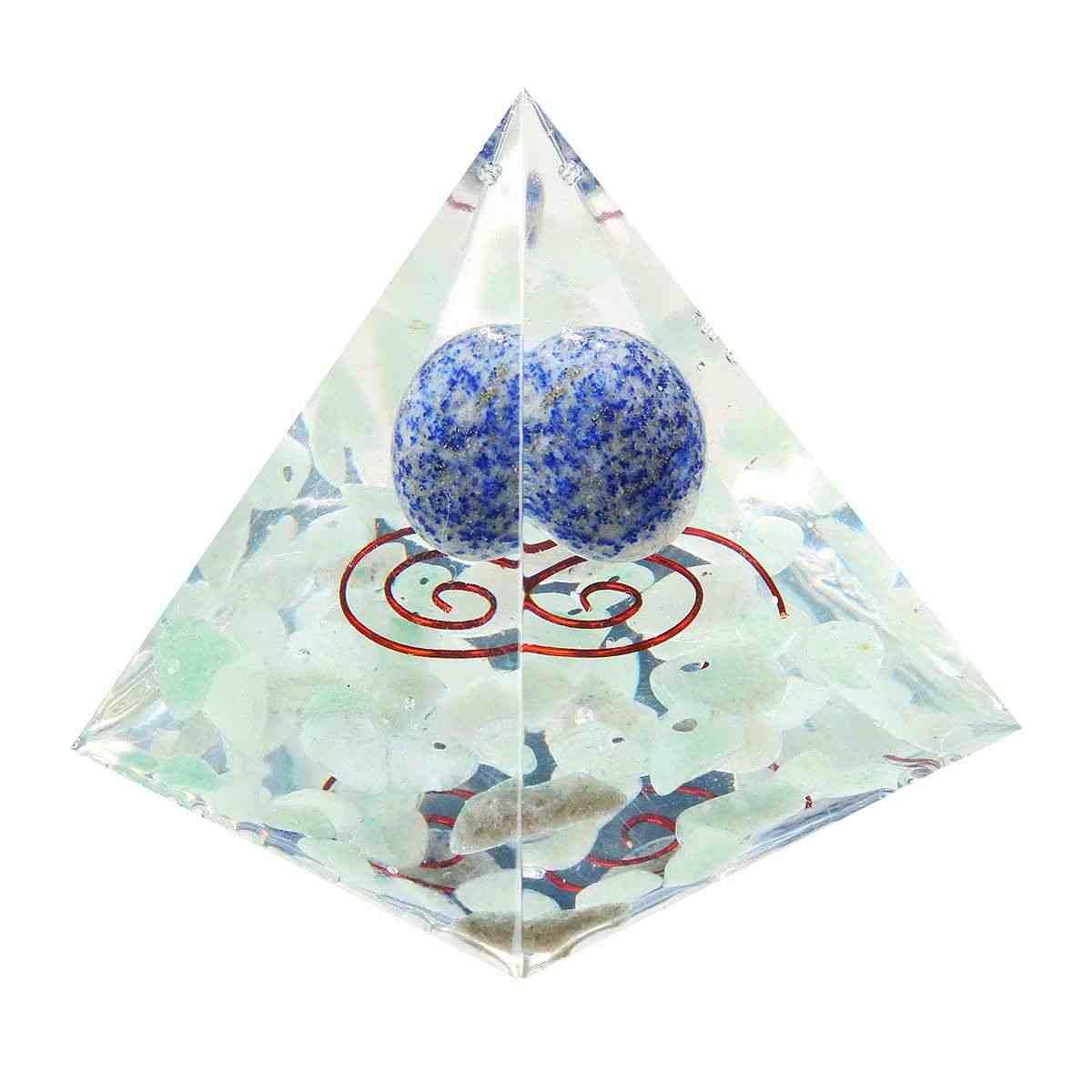 24 phong cách Orgone Năng Lượng Chuyển Đổi Orgonite Kim Tự Tháp Làm Dịu Các Linh Hồn Đá Mà Thay Đổi Từ Lĩnh Vực Của Cuộc Sống Đồ Trang Sức Nhựa