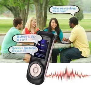 Image 4 - Traducteur vocal 52 langues traducteur didiomes en tiempo réel Wifi hotspot traduction bidirectionnelle intelligente Fota traducteur de mise à niveau