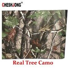 Motif de couverture de voiture, en vinyle, 50x200cm, Camouflage, arbre, feuilles Jumbo, en PVC, Film de décoration, chariot de Golf, camion