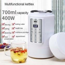 700ML Mini Multi-function Electric Kettle Health cup Preserving Pot Boiled Tea Pot Hot Water bottle Warm Kettle 220V