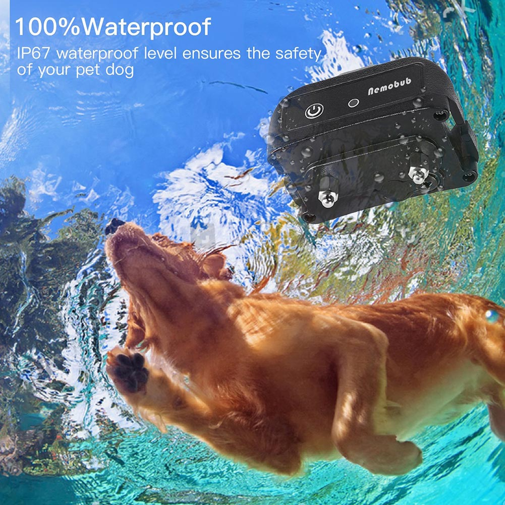 Dog Shock Collar Rechargeable Waterproof 1000ft Remote Training Electric Pet Collars for Dogs WXV Sale in Other Dog Training Aids from Home Garden