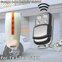 Портативный гаражные ворота дистанционного Управление ключ 433,92 МГц 4B универсальные автомобильные ворота открывалка брелок для Mhouse MyHouse TX4 ...