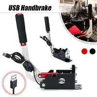 Usb braçadeira de freio de mão windows para sim jogo de corrida para logitech g25 g27 g29 t500 t300 fanatecosw para lfs sujeira rally|Freio de mão|Automóveis e motos -