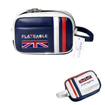 Unisex Golf Pouch Bag Handbag PU Matreial Zipper Mini Golf Bag Valuables Cell Phone Pouch Makeup Cosmetic Bag for Men Women Golf Bags