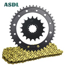 Rear-Sprocket-Set 44-Teeth Transmission-Chain Motorcycle-Motor Front HONDA 17T 525 And