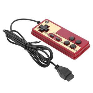 Image 3 - חם Wired 8 קצת טלוויזיה אדום ולבן מכונת משחק וידאו נגן ידית Gampad בקר עבור Coolboy עבור Subor עבור NES משחק משחק