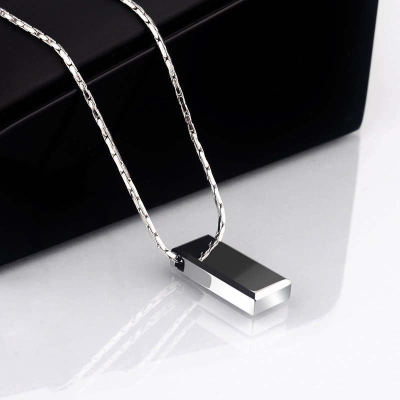 Image 4 - Hot Selling Casual/Sporty High Polished Tungsten Pendants Rectangle Shape for Man Woman Can Laser Engraving Picture/ Symbols-in Pendants from Jewelry & Accessories