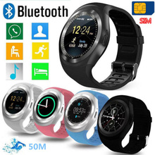 70a5c8182 Waterproof Bluetooth Smart Watch Mate SIM Slot For HTC Samsung Android  Phone(China)