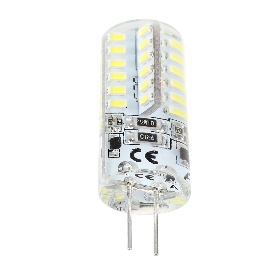 <font><b>G4</b></font> <font><b>2W</b></font> 48 LED 3014 SMD White Marine Boat Light Bulb Lamp AC/DC <font><b>12V</b></font> 6500K image