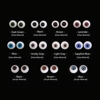 Bjd 目眼球サイズ 1/3 1/4 1/6 1/8 高品質 sd msd ライトグレーダークグリーン redpurple スモーキーサファイアブルー目