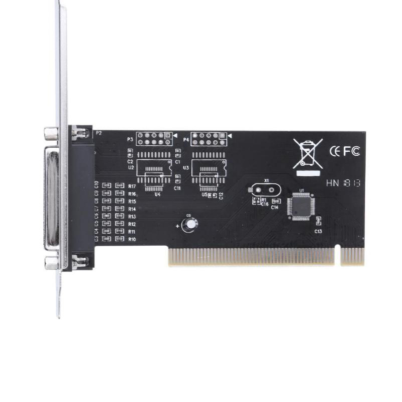 Pci Expansion Card Adapter 25Pin Parallel Lpt Pci To Parallel Db25 Printer Port Controller Card