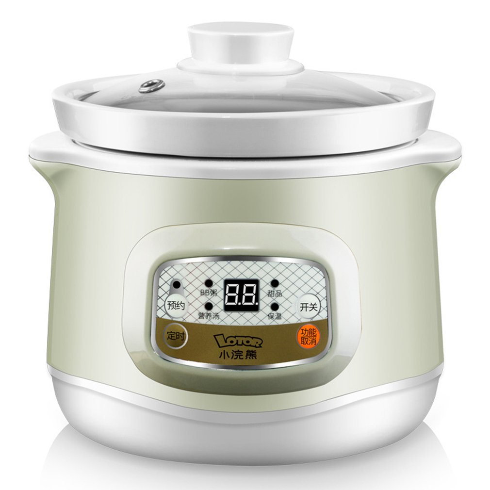 Z1 Mini PP & Ceramic Electric Multifunction Cooked Boiled Braised Stewed Steamed Cooker Steamer Home AutomaticZ1 Mini PP & Ceramic Electric Multifunction Cooked Boiled Braised Stewed Steamed Cooker Steamer Home Automatic