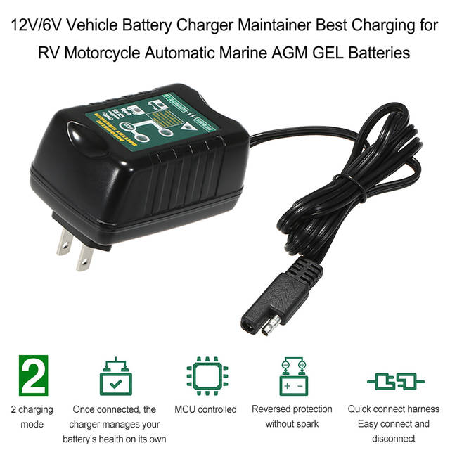 How To Charge A Car Battery Without A Charger >> Us 15 5 42 Off 12v 6v 1 5a Smart Vehicle Battery Charger Maintainer Best Charging For Rv Motorcycle Automatic Marine Agm Gel Batteries On Aliexpress