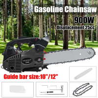 900W 12 Gasoline Chainsaw Machine Cutting Wood 25CC 9800rmp Gas Chain Saw