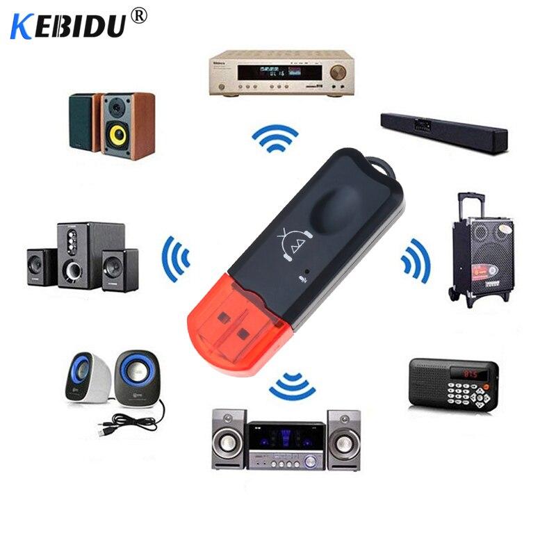 Kebidu Drahtlose Tragbare Usb 2.1 Bluetooth Empfänger Adapter Dongle Edr Usb Musik Audio Adapter Einzel Bluetooth Empfänger Für Auto Warmes Lob Von Kunden Zu Gewinnen Tragbares Audio & Video