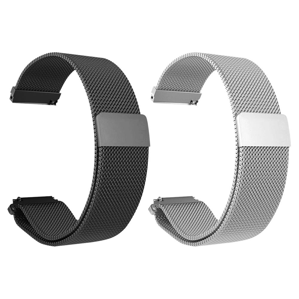 Image 5 - Metal Milanese Loop Watch Bands Magnetic Adsorption Wristband Durable Strap For Xiaomi For Huami Amazfit Verge Metal Milanese-in Smart Accessories from Consumer Electronics