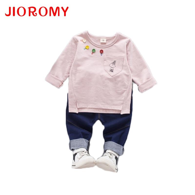 JIOROMY Boys Clothing Set 2019 Herbst Neue Kinderanzüge Baby Boy - Kinderkleidung