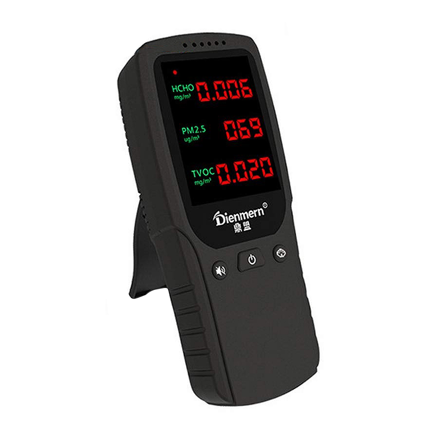 Hot Sale Dienmern Air Quality Monitor Accurate Testing Pm2 5 Hcho Detector Gas Analyzer Formaldehyd Hcho